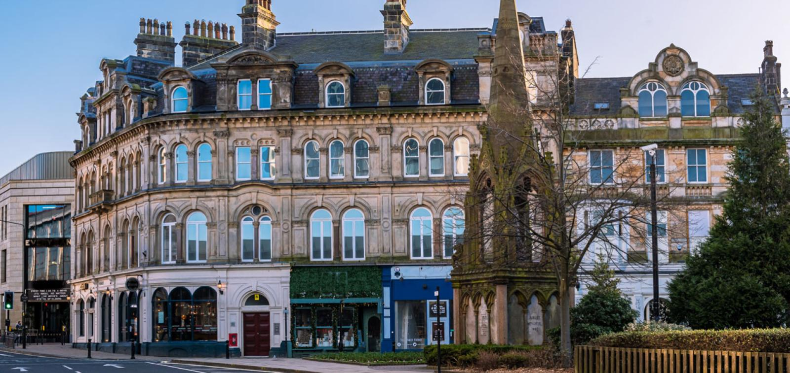 Exterior photo of our Station Square Development in Harrogate
