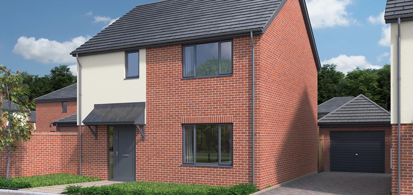 CGI showing the exterior of The Ardleigh